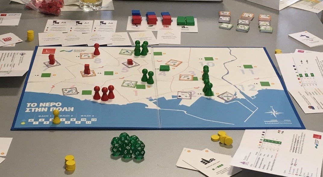 Watercity board game